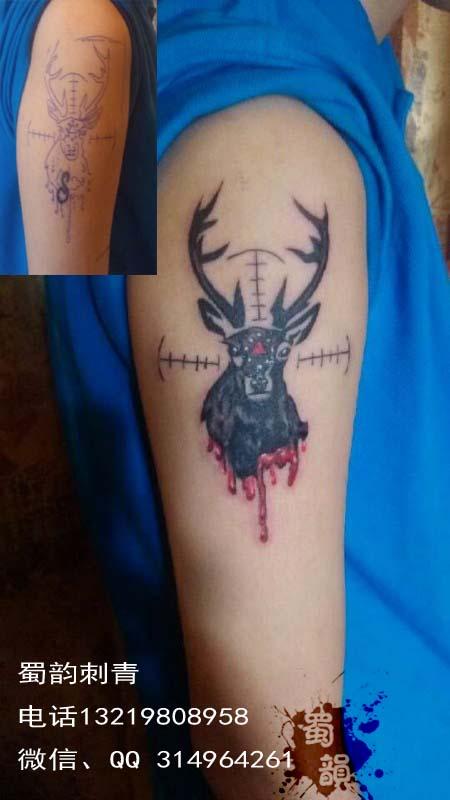 雪花纹身图案大全专业提供