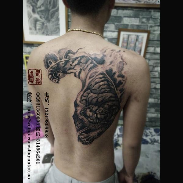 龙纹身,女生纹身图案大全